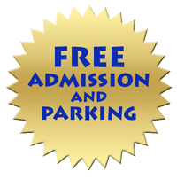 Free Admission and Parking