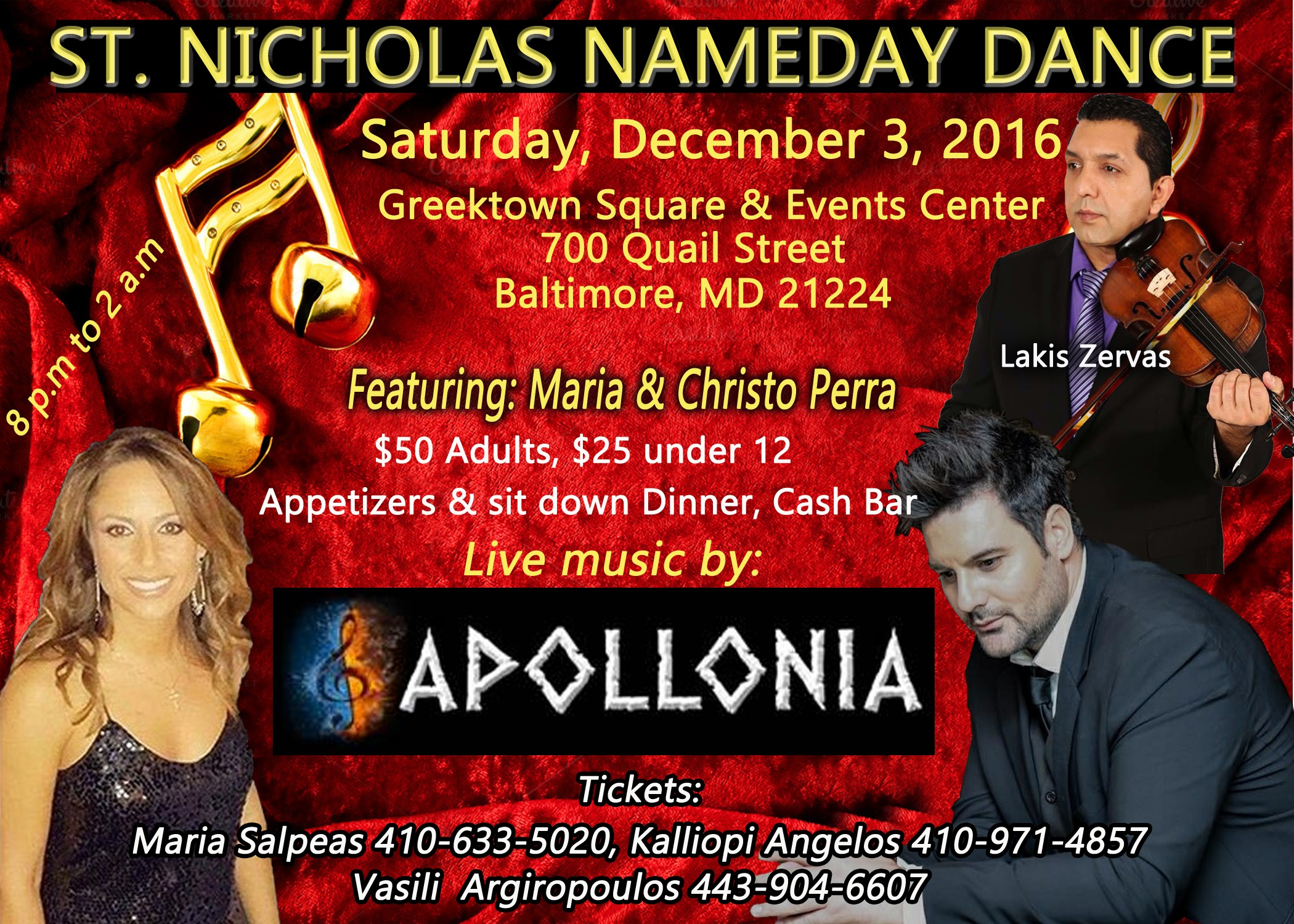 St Nicholas Name Day Dance